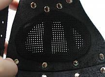 Шкіряна маска MSD Apocalisse Чорна (5915), фото 2