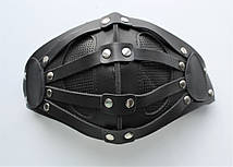 Кожаная маска MSD Apocalisse Черная (5915), фото 3