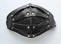 Шкіряна маска MSD Apocalisse Чорна (5915), фото 3