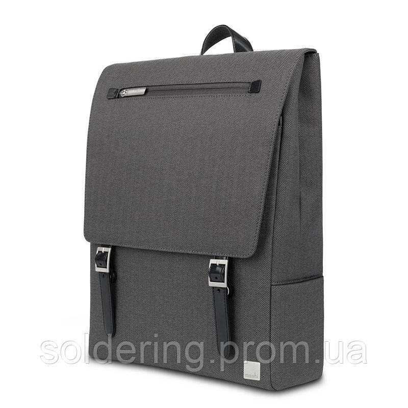 Рюкзак Moshi Helios Lite Designer Laptop Backpack Herringbone Gray (99MO087052)