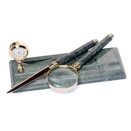 Набір лупа ніж для розтину листів 24х10 см BST 540044, фото 2