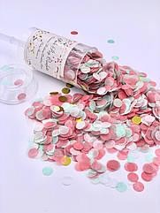 Поппер с бумажным конфетти Push Pop
