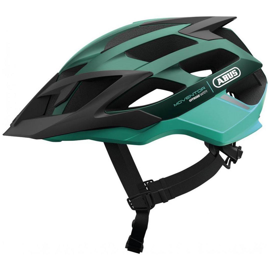 Шолом велосипедний ABUS MOVENTOR M Smaragd Green (781711)