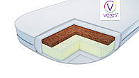 Матрац в люльку Baby Veres Coconut+Elastic foam