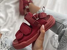 Чоловічі сандалі New Balance Beach Couple Sports Sandals Bordo, фото 2