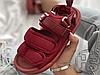 Чоловічі сандалі New Balance Beach Couple Sports Sandals Bordo, фото 4