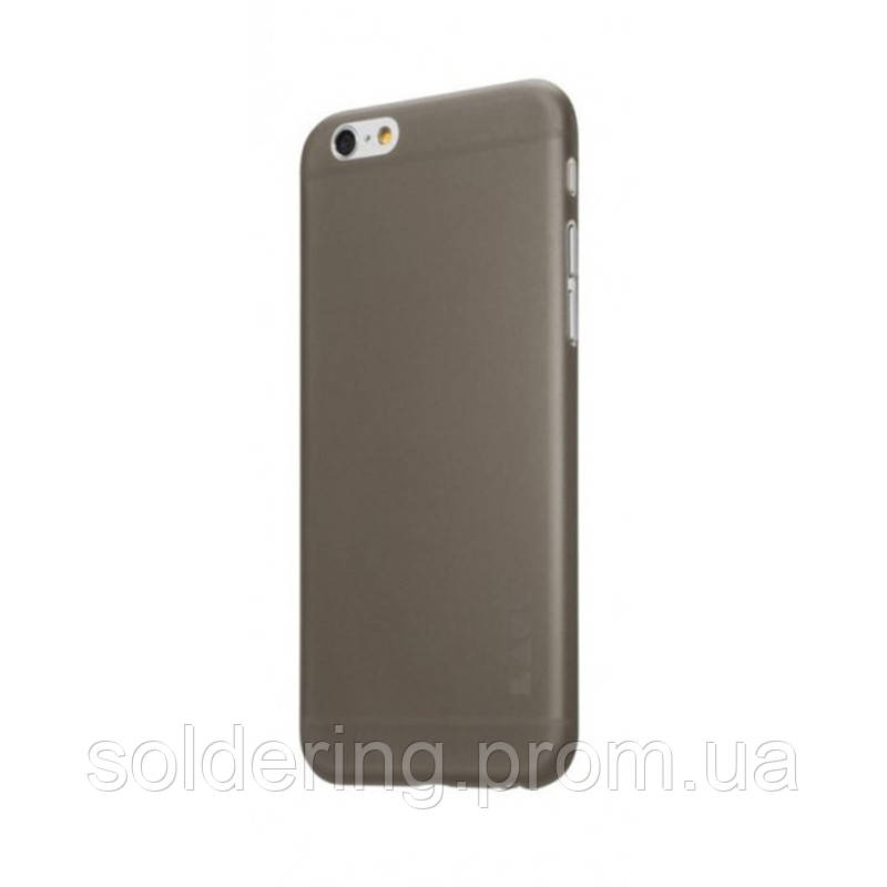 Чехол LAUT SLIMSKIN 0.4mm (+две пленки на экран) для iPhone 6/6s Black (LAUT_IP6_SS_BK)