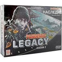 Настільна гра Стиль Життя Пандемія: Спадщина 2 (чорна)(Pandemic Legacy: Season 2)