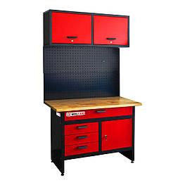 Верстак с настенным шкафом Holzmann WHL 1200