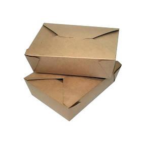 Контейнер бумажный FOLDPACK BIOPACK 450 шт/уп Коричневый (42229)