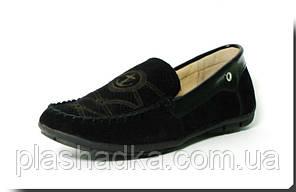 Туфли ШАЛУНИШКА 5517 черный. Размеры 34-36