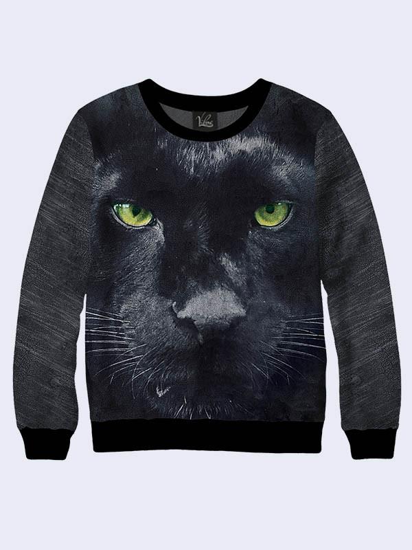 Свитшот мужской Черная пантера