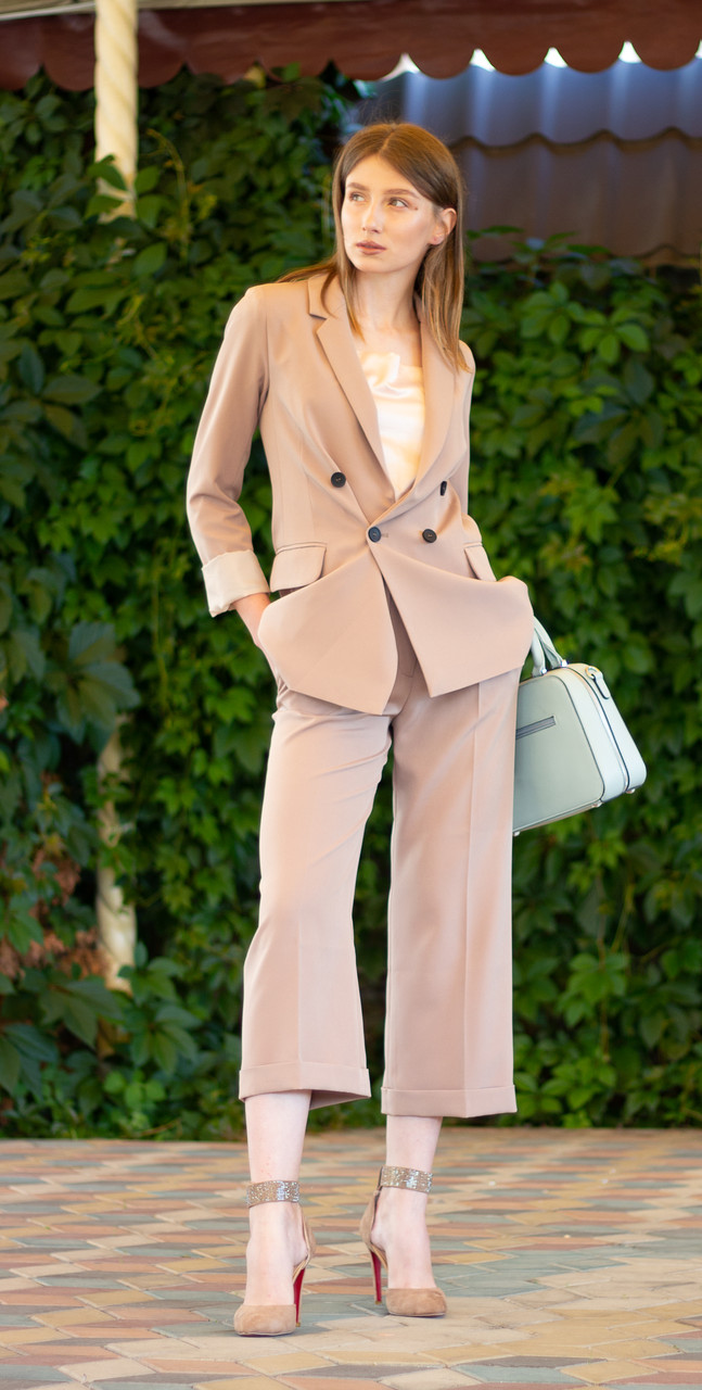 Модный женский костюм, XS,S,M