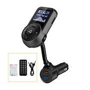 FM-трансмітер Grand-X 96GRX Bluetooth V4.2, MicroSD + 2 два гнізда зарядки Quick Charge 3.0+2.4 A (96GRX)