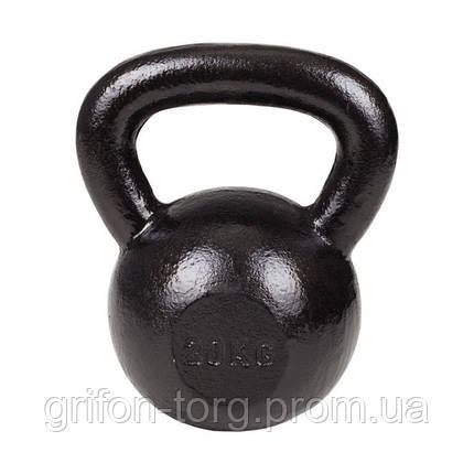 Гиря металева Hop-Sport 20кг, фото 2