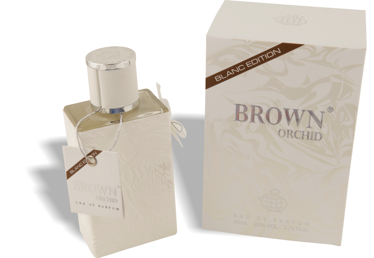 Brown Orchid White Edition Fragrance World