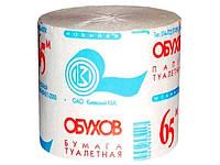 Обухів 65м туалетний папір б/гільзи 48шт в гофроящиках