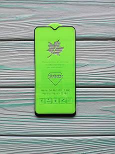 Захисне скло 20D для Realme XT Full Glue Чорне