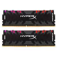 Модуль памяті для компютера DDR4 16GB (2x8GB) 3200 MHz HyperX Predator RGB Kingston (HX432C16PB3AK2/16)