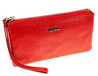 Жіночий клатч шкіряний червоний Butun 662-004-006