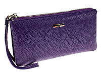 Жіночий клатч Butun 662-004-010 шкіряний фіолетовий