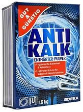 Gut & Gunstig Anti Kalk порошок против накипи для стиральной машины в картоне 1.5 кг
