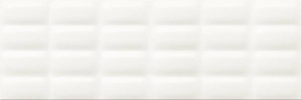 Плитка Opoczno / White Glossy Pillow Structure  25x75, фото 2