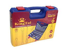 "Набор инструментов 1/2"", 37 предметов (8-32мм, (6-гр.) // KINGTUL KT-37 код. 2106"