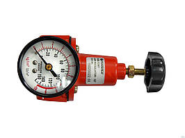 "Регулятор давления 1/4"" с манометром"