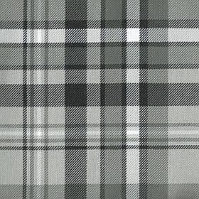 Ткань для мебели, мебельная жаккардовая ткань в клетку Эдинбург (Edinburgh) серого цвета