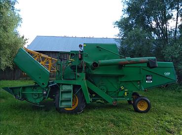 Зернозбиральний Зернозбиральний міні комбайн Volvo, Вольво 830