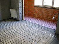 """Монтаж нагревательного кабеля для системы """"Теплый пол"""""""