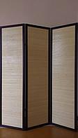 Двухсторонняя ширма, бамбуковая 3 секции