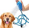 Перчатка для мойки животных Pet washer / Щетка душ для собак, кошек, фото 7