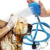 Перчатка для мойки животных Pet washer / Щетка душ для собак, кошек, фото 8