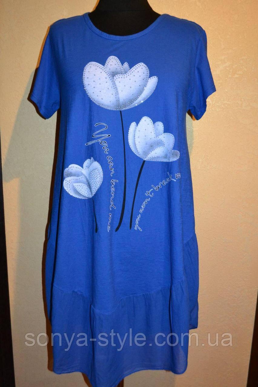 Жіноче плаття з ліліями великих розмірів