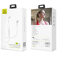 Stereo Bluetooth Headset Usams LN Series White (US-LN001)
