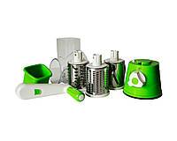 Механическая овощерезка Kitchen Master Зеленая 2293, КОД: 1140266