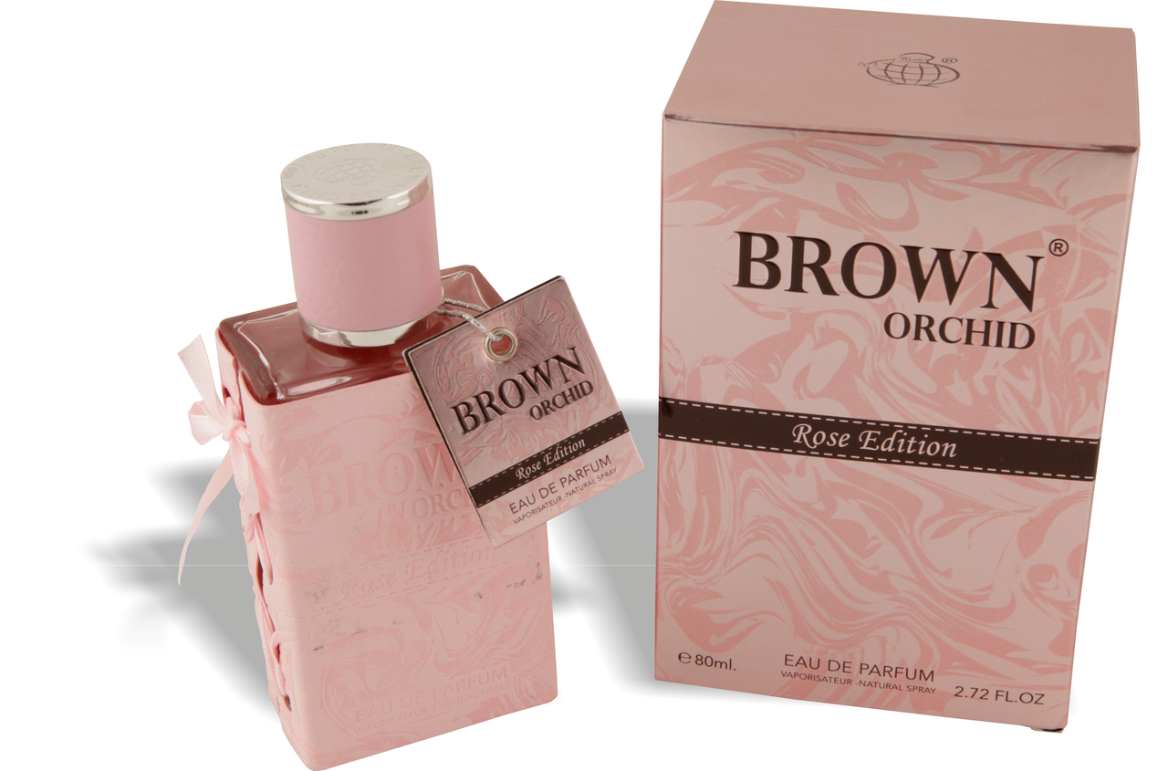 Brown Orchid Rose Edition Fragrance World