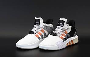 Чоловічі кросівки ADIDAS EQT White Black Grey Orange 42