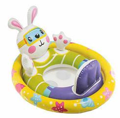 Детский надувной круг Intex 59570 (Зайчик)