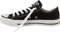 Кеды Converse All Stars Black Low M9166 (черные) 35