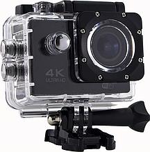 Водонепроницаемая спортивная экшн камера Delta H16-6 4K Wi Fi Black