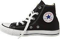 Кеды Converse All Stars Black High M9160 (черные) 46