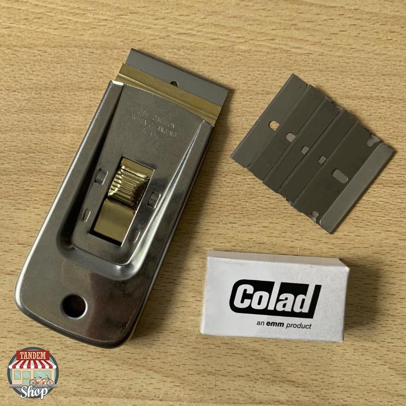 Скребок металический со сменными лезвиями Colad Glass Scraper