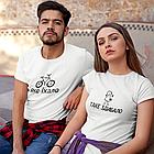 """Парні футболки для закоханих  """"Яке їхало / таке здибало"""", фото 7"""