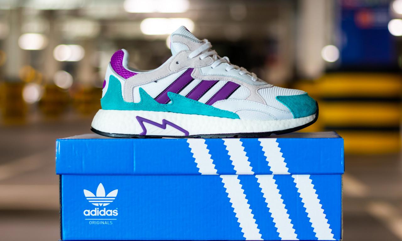 Кроссовки мужские Adidas Tresc Run White Purple Aqua