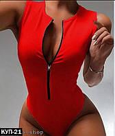 Женский слитный купальник, фото 1