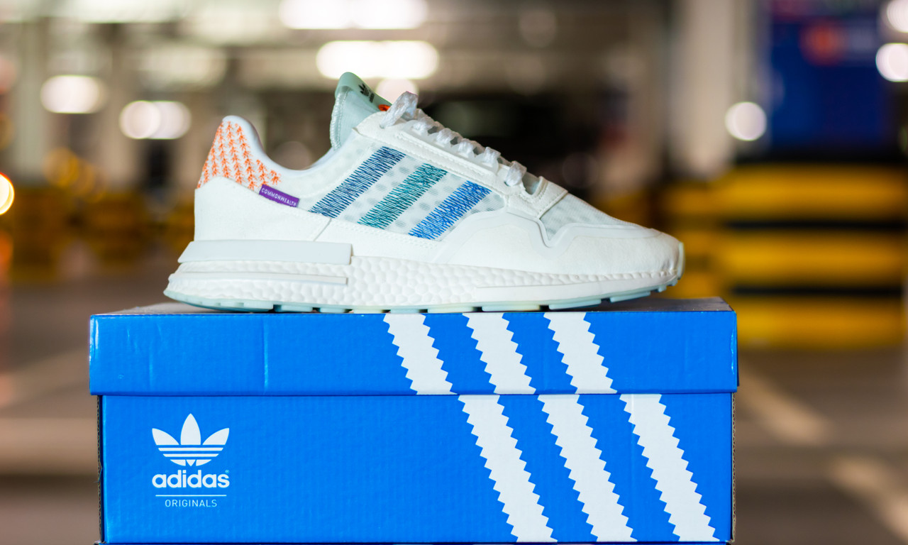Кроссовки мужские Adidas Commonwealth x ZX 500 RM Coastal Living