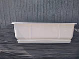 Вазон балконный «Дама» с поддоном 50х18 (9 л.), фото 5